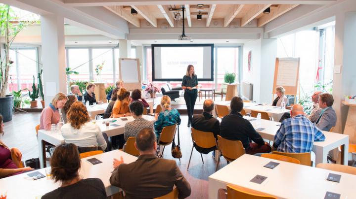 cultuur + ondernemen adviseursbijeenkomst